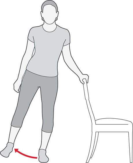 ابداکسیون با دور کردن لگن برای درد آرتروز لگن
