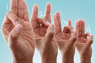 با دست 'O' بسازید