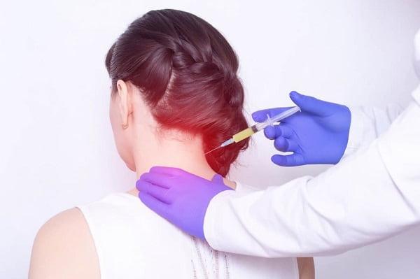 تزریق برای درمان گردن درد