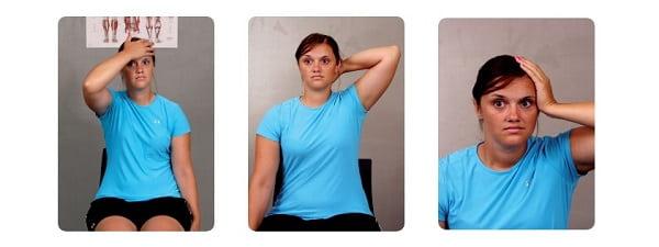 حرکت تقویتی ایزومتریک برای درمان گردن درد