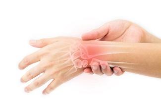 درمان دررفتگی مچ دست