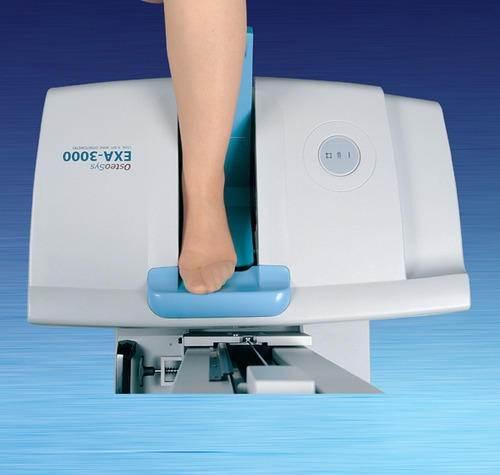 دستگاه اندازه گیری میزان تراکم استخوان