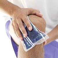 درمان زانو درد عصبی با یخ