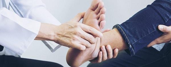 فیزیوتراپی مچ پا پس از دررفتگی، شکستگی و آسیب مفصل (ورزش مچ پا)