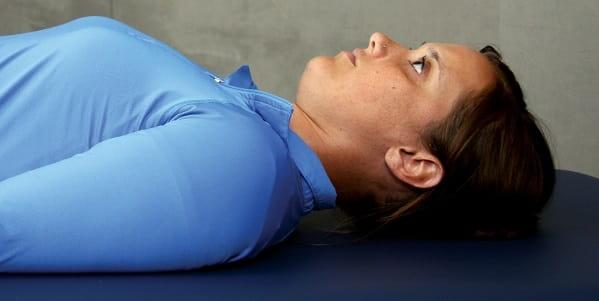 وضعیت مناسب سر در حالت خنثی برای درمان گردن درد